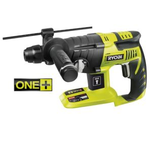 View Ryobi Cordless 18V Li-Ion SDS Hammer Drill without Batteries CRH1801M details