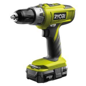 Ryobi One Cordless 18V 1.3Ah LiIon Combi Drill 1 Battery LLCDI1802L13G