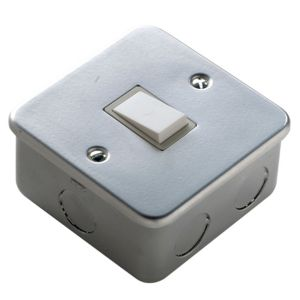 View Marbo Powder Coated Rocker Single Switch 1-Gang 2-Way SP 6AX details