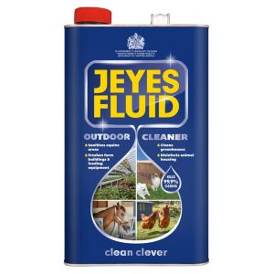 Jeyes Fluid Fluid Outdoor Disinfectant  5000 ml