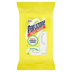 Image of Parozone Toilet Cleaning Wipes Pack of 40