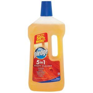 Image of Pledge 5 In 1 Wood Floor Cleaner 750 ml