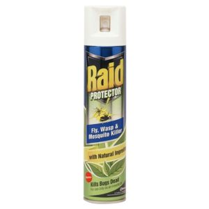 Image of Raid Protector Aerosol Flying Insect Control 0.3L