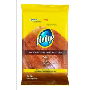 View Pledge Floor Wipes, Pack of 12 details