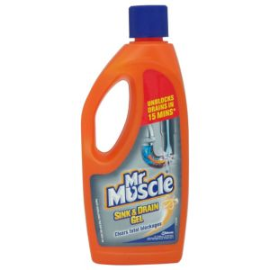View Mr Muscle Sink & Drain Unblocker Bottle details