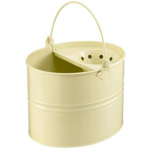 View Lily & Brown Cream Steel 16 L Mop Bucket details
