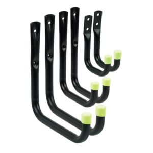 View Black Wall Hook, Pack of 6 details