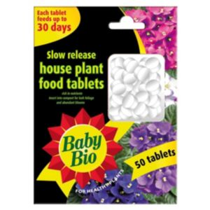 View Baby Bio Slow Release Tablets House Plant Feed, Pack of 50 details