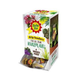 View Baby Bio Drip Feeder House Plant Feed 160ml, Pack of 4 details