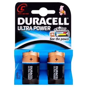 View Duracell Ultra C Alkaline Batteries, Pack of 2 details