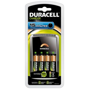 View Duracell 15 Minute Battery Charger details