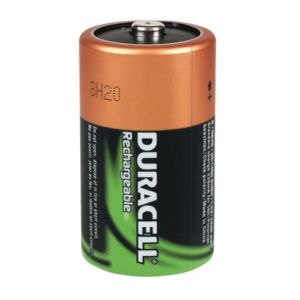 View Duracell Rechargeable D Ni-Mh Batteries, Pack of 2 details