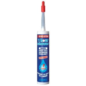 View Evo-Stik White Silicone One Hour Sanitary & Kitchen Sealant 290ml details