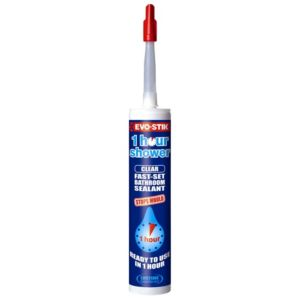 View Evo-Stik Translucent Silicon Carbide One Hour Sanitary & Kitchen Sealant 290ml details