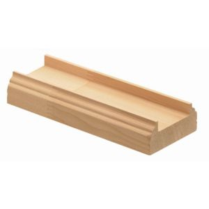 View Richard Burbidge Softwood Hemlock Baserail (L)4.2m (W)63mm (H)28mm details