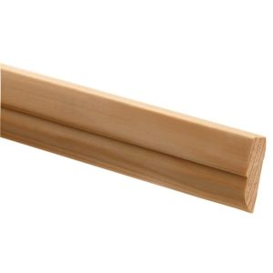 View Richard Burbidge Pine Door Stop Moulding (W)34mm (L)2.4m (T)12mm details