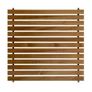 View Slatted Hardwood Fence Panel (W)800mm (H)750mm details