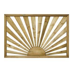 Image of Richard Burbidge Decking Traditional Decorative panel Trellis panel (W)1.13m (H)0.76m