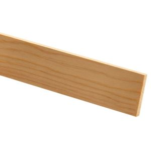View Richard Burbidge Pine Stripwood Moulding (W)36mm (L)2.4m (T)4mm details