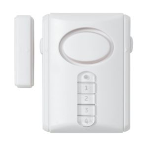 View Response White Door/Window Alarm Pack of 1 details