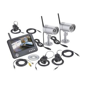 View Friedland Silver Wireless CCTV Kit CWFK4D details