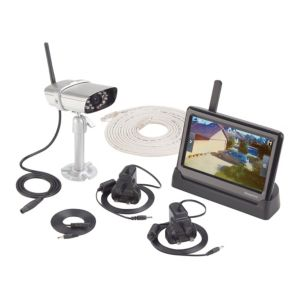 View Response Black & Silver Wireless CCTV Kit details