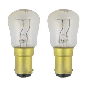 View GE Small Bayonet Cap (B15) 15W Incandescent GLS Light Bulb details