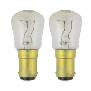 View GE Bayonet Cap (B22D) 15W Incandescent Appliance Light Bulb, Pack of 2 details