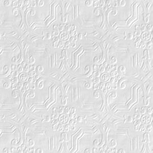 Image of Anaglypta Original White Berkeley Textured Paintable Wallpaper