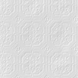 Image of Anaglypta Original White Derby Paintable Wallpaper