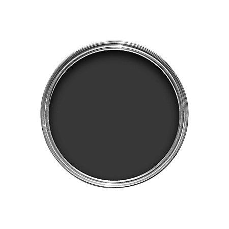 Crown Interior Exterior Jet Black Gloss Wood Metal Paint 750ml Departments Diy At B Q