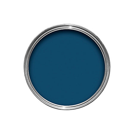 Crown interior exterior oxford blue gloss wood metal paint 750ml rooms diy at b q - Exterior wood and metal paint set ...