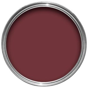 View Crown Non Drip Interior & Exterior Burgundy Gloss Paint 750ml details