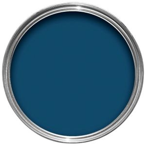 View Crown Solo® Interior & Exterior Oxford Blue Gloss Paint 750ml details