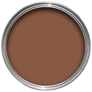 View Crown Solo® Interior & Exterior Chocolate Brown Gloss Paint 750ml details