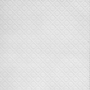 Image of Anaglypta Luxury White Amber Paintable Wallpaper