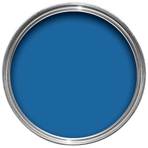 View Crown Solo® Interior & Exterior Windsor Blue Gloss Paint 750ml details