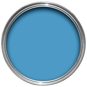 View Crown Solo® Interior & Exterior Blue Mosel Gloss Paint 750ml details