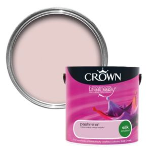 View Crown Breatheasy® Pashmina Silk Emulsion Paint 2.5L details