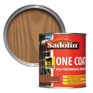 Image of Sadolin Antique pine Semi-gloss Wood stain 0.5L