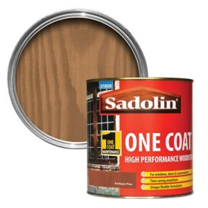 Image of Sadolin Antique pine Semi-gloss Wood stain 1L