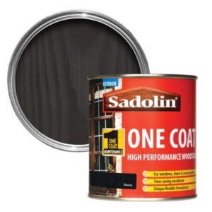 Image of Sadolin Ebony Semi-gloss Woodstain 0.5L