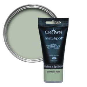 View Crown Breatheasy® Bamboo Leaf Mid Sheen Emulsion Paint 40ml Tester Pot details
