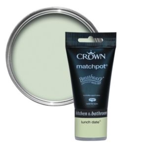 View Crown Breatheasy® Lunch Date Mid Sheen Emulsion Paint 40ml Tester Pot details