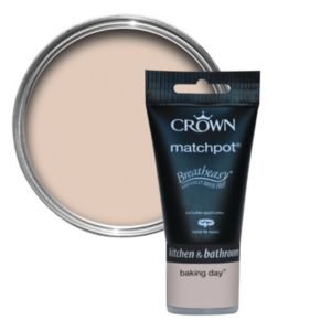 View Crown Breatheasy® Baking Day Mid Sheen Emulsion Paint 40ml Tester Pot details