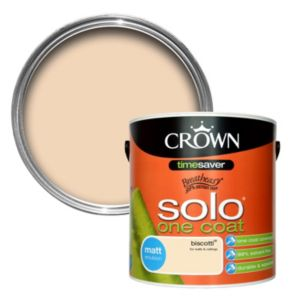 View Crown Breatheasy® Biscotti Matt Emulsion Paint 2.5L details