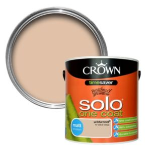 View Crown Breatheasy® Wildwood Matt Emulsion Paint 2.5L details