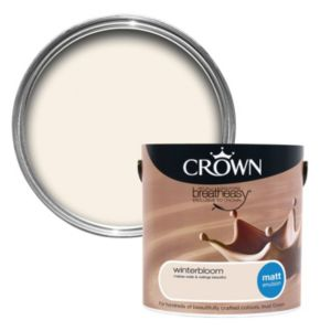 View Crown Neutrals Winterbloom Matt Emulsion Paint 2.5L details