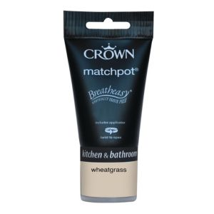 View Crown Breatheasy® Wheatgrass Mid Sheen Emulsion Paint 40ml Tester Pot details