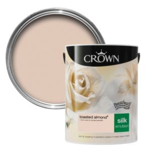 View Crown Breatheasy® Toasted Almond Silk Emulsion Paint 5L details